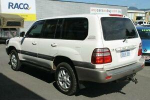 2004 Toyota Landcruiser UZJ100R Sahara White 5 Speed Automatic Wagon Bungalow Cairns City Preview