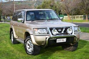 1999 Nissan Patrol GU TI (4x4) Gold 4 Speed Automatic 4x4 Wagon Cumberland Park Mitcham Area Preview