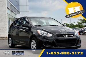 2017 Hyundai Accent LE / 0% * 72 mois / RABAIS DE 750$