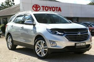2017 Holden Equinox EQ MY18 LTZ (FWD) Silver 9 Speed Automatic Wagon Wyong Wyong Area Preview