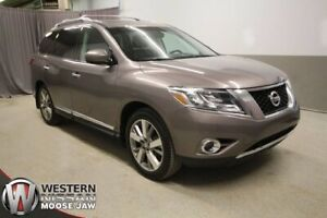 2014 Nissan Pathfinder Platinum AWD - LEATHER - REMOTE START