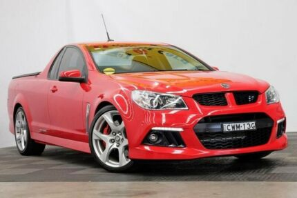 2013 Holden Special Vehicles Maloo GEN-F MY14 Red Hot 6 Speed Manual Utility