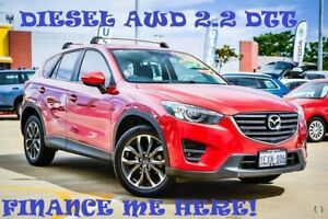 2015 Mazda CX-5 KE1022 Grand Touring SKYACTIV-Drive AWD Red 6 Speed Sports Automatic Wagon Greenfields Mandurah Area Preview