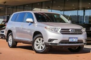 2013 Toyota Kluger GSU40R MY12 KX-R 2WD Silver 5 Speed Sports Automatic Wagon Gosnells Gosnells Area Preview