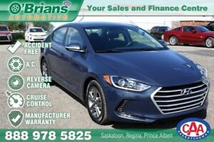 2017 Hyundai Elantra GL - Accident Free w/Mfg Warranty