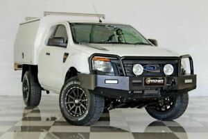2014 Ford Ranger PX XL 3.2 (4x4) White 6 Speed Manual Super Cab Chassis Burleigh Heads Gold Coast South Preview