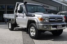 2012 Toyota Landcruiser VDJ79R MY13 GXL Silver 5 Speed Manual Cab Chassis Currimundi Caloundra Area Preview