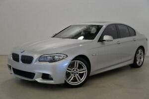 2013 BMW 520D F10 LCI M Sport Steptronic Silver 8 Speed Sports Automatic Sedan