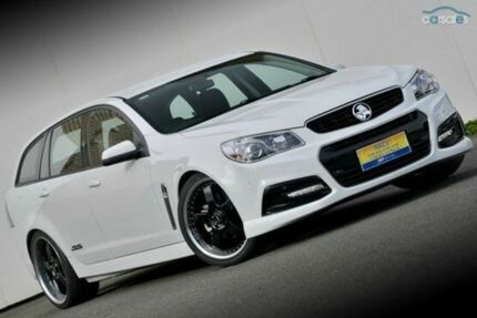 2014 Holden Commodore VF MY14 SS Sportwagon White 6 Speed Auto Seq Sportshift Wagon Ferntree Gully Knox Area Preview