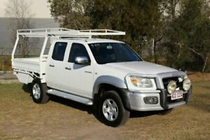 2009 Mazda BT-50 UNY0E4 SDX White 5 Speed Manual Utility Ormeau Gold Coast North Preview