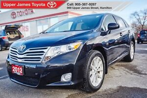 2012 Toyota Venza All Wheel Drive - Winter?  No problem.