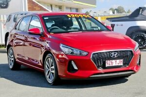 2018 Hyundai i30 PD2 MY18 Active Fiery Red 6 Speed Sports Automatic Hatchback Cleveland Redland Area Preview