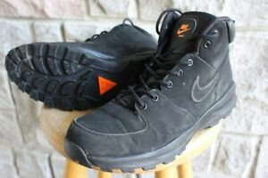 Nike Manoa men's leather hiking boots size US 11 EU 45 shoes boo