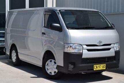 2014 Toyota Hiace KDH201R MY14 LWB Silver 4 Speed Automatic Van