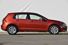 2013 Volkswagen Golf VII 90TSI DSG Comfortline Red 7 Speed Sports Automatic Dual Clutch Hatchback Ferntree Gully Knox Area Preview