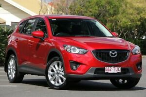 2014 Mazda CX-5 KE1022 Grand Touring SKYACTIV-Drive AWD Red 6 Speed Sports Automatic Wagon Chermside Brisbane North East Preview