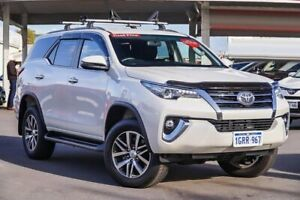 2018 Toyota Fortuner GUN156R Crusade Crystal Pearl 6 Speed Automatic Wagon