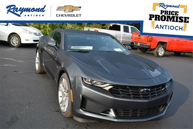 2021 Chevrolet Camaro 1LT 0 Shadow Gray Metallic 2D Coupe 3.6L V6 DI 10-Speed Au