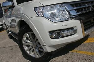 2015 Mitsubishi Pajero NX MY15 Exceed LWB (4x4) White 5 Speed Auto Sports Mode Wagon Wolli Creek Rockdale Area Preview