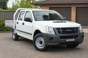 2012 Isuzu D-MAX MY11 SX White 5 Speed Manual Utility Greenacre Bankstown Area Preview