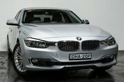 2013 BMW 320i F30 MY1112 Silver 8 Speed Sports Automatic Sedan Rozelle Leichhardt Area Preview