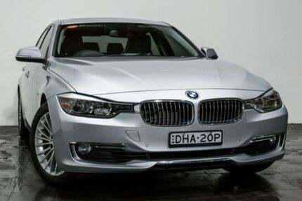 2013 BMW 320i F30 MY1112 Silver 8 Speed Sports Automatic Sedan