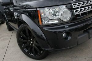 2011 Land Rover Discovery 4 MY12 2.7 TDV6 Black 6 Speed Automatic Wagon Petersham Marrickville Area Preview