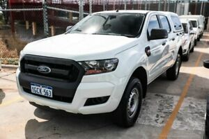 2016 Ford Ranger PX MkII XL Double Cab 4x2 Hi-Rider White 6 Speed Sports Automatic Utility Edgewater Joondalup Area Preview
