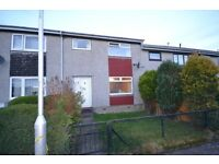 Unfurnished two double bedroom and one box room terraced house in popular Ladywood area of Penicuik