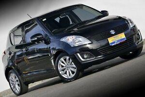 2014 Suzuki Swift FZ MY14 GLX Navigator Black 4 Speed Automatic Hatchback Ferntree Gully Knox Area Preview