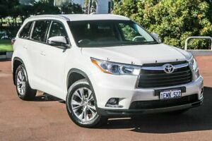 2014 Toyota Kluger GSU50R GXL 2WD White 6 Speed Sports Automatic Wagon Cannington Canning Area Preview