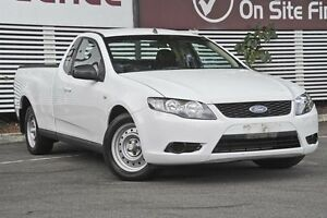 2010 Ford Falcon FG Ute Super Cab White 5 Speed Automatic Utility Mount Gravatt Brisbane South East Preview