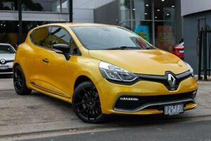 2016 Renault Clio IV B98 R.S. 200 EDC Sport Yellow 6 Speed Sports Automatic Dual Clutch Hatchback Bentleigh East Glen Eira Area Preview