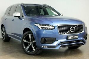 2016 Volvo XC90 L Series MY16 D5 Geartronic AWD R-Design Blue 8 Speed Sports Automatic Wagon South Melbourne Port Phillip Preview