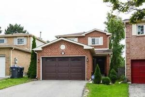 Spacious And Well Maintained Detached Home In Great Location!