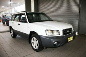 2004 Subaru Forester MY04 X White 4 Speed Automatic Wagon Thornleigh Hornsby Area Preview