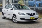 2008 Mazda 3 BK10F2 MY08 Neo Sport White 4 Speed Sports Automatic Hatchback South Lismore Lismore Area Preview