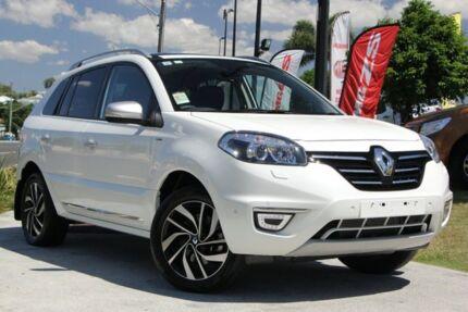 2016 Renault Koleos H45 PHASE III MY15 Bose Premium White 1 Speed Constant Variable Wagon