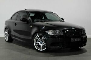 2009 BMW 1 Series E82 135i Steptronic Sport Black 6 Speed Sports Automatic Coupe Bayswater Bayswater Area Preview