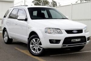2009 Ford Territory SY TS White 4 Speed Sports Automatic Wagon Gosford Gosford Area Preview