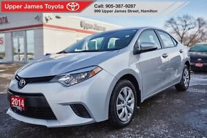 2014 Toyota Corolla LE - Service history and Carproof clean.