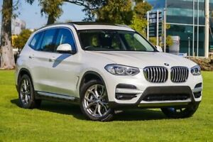 2019 BMW X3 G01 sDrive20i Steptronic White 8 Speed Automatic Wagon Burswood Victoria Park Area Preview
