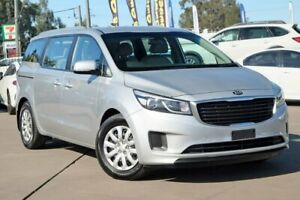 2017 Kia Carnival YP MY18 S Silver 6 Speed Sports Automatic Wagon McGraths Hill Hawkesbury Area Preview