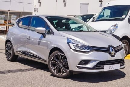 2017 Renault Clio IV B98 Phase 2 Intens EDC Grey 6 Speed Sports Automatic Dual Clutch Hatchback Osborne Park Stirling Area Preview