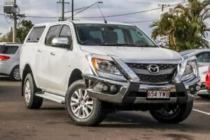 2014 Mazda BT-50 UP0YF1 GT White 6 Speed Sports Automatic Utility Gympie Gympie Area Preview