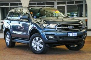 2018 Ford Everest UA 2018.00MY Ambiente RWD Blue 6 Speed Sports Automatic Wagon