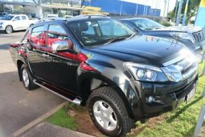 2012 Isuzu D-MAX MY12 LS-Terrain Crew Cab Black 5 Speed Sports Automatic Utility Slacks Creek Logan Area Preview