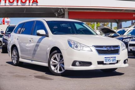 2013 Subaru Liberty B5 MY13 2.5i Lineartronic AWD White 6 Speed Constant Variable Wagon Osborne Park Stirling Area Preview