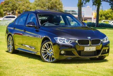 2017 BMW 318I F30 LCI M Sport Black 8 Speed Sports Automatic Sedan