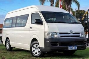 2006 Toyota HiAce TRH223R Commuter High Roof Super LWB French Vanilla 4 Speed Automatic Bus Wangara Wanneroo Area Preview